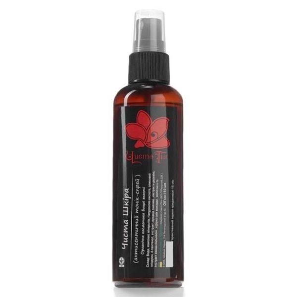 тоник-спрей для лица чистая кожа