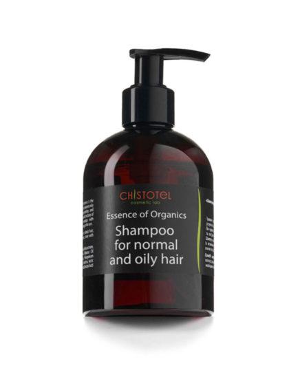 натуральный шампунь для нормальных и жирных волос