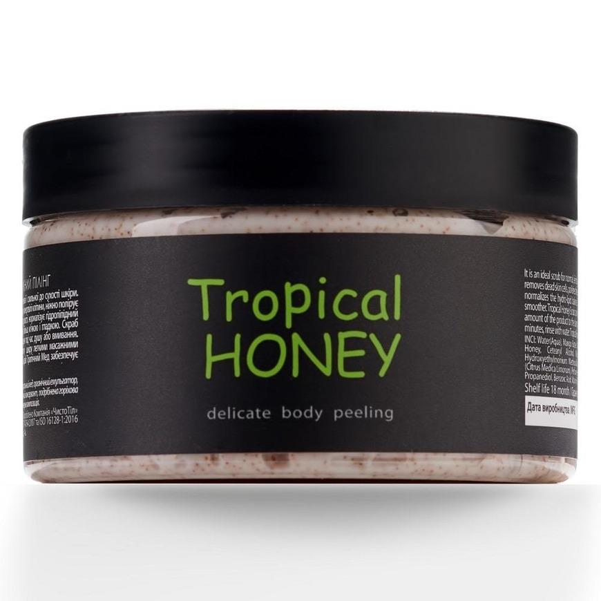 натуральный пилинг для тела тропический мёд