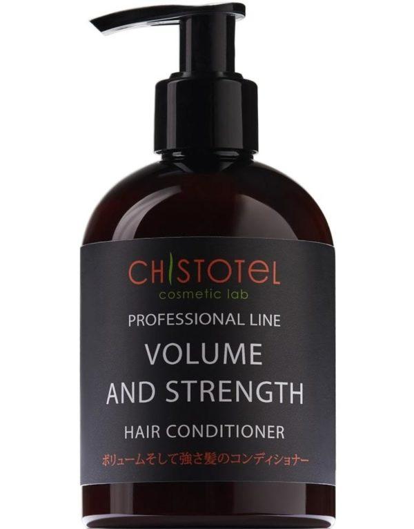 натуральный кондиционер для всех типов волос сила и объём